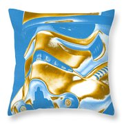 Stormtrooper Helmet 30 Throw Pillow