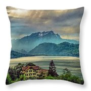 Stormy Atmosphere Throw Pillow
