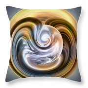 Stormy Clouds Ball Throw Pillow