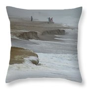 Stormy Day Throw Pillow