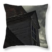 Stormy Days Throw Pillow