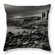 Stormy Night In Ireland Throw Pillow