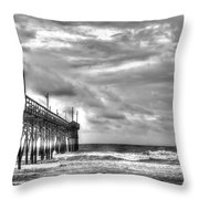 Stormy Perspective Throw Pillow