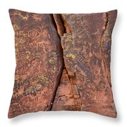 Story In Pictures Throw Pillow