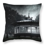 Storytelling Gazebo Throw Pillow by Svetlana Sewell