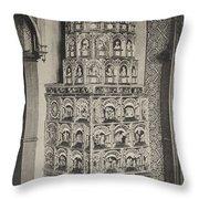 Stove, 19th Century Throw Pillow