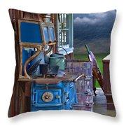 Stove - Appliance - Cooker - Kitchen  Throw Pillow
