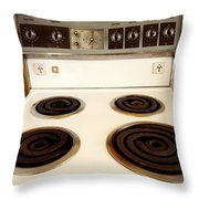 Stove Top Throw Pillow