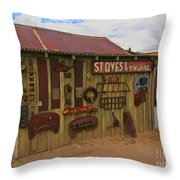 Stoves And Tinware Throw Pillow