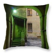 The Small Yard Throw Pillow