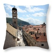 Stradun Throw Pillow