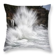 Straight Up Awesome Throw Pillow