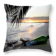 Lost In Paradise Throw Pillow