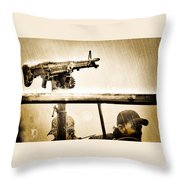 Strange Days Throw Pillow