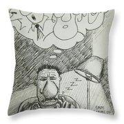 Strange Dreams Throw Pillow
