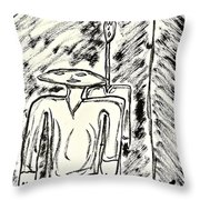 Strange Friends #2 Throw Pillow
