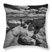 Strange Rocks 33 Throw Pillow