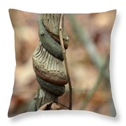 Strangled By Nature Throw Pillow