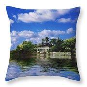 Stranhan House Centennial Throw Pillow