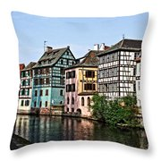 Strasbourg France Throw Pillow