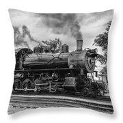 Strasburg Rail 475 Throw Pillow