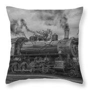 Strasburg Rail 475 In Hdr Throw Pillow