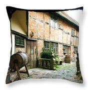 Stratford Back Alley Throw Pillow