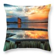 Strathclyde Loch Wier  Throw Pillow