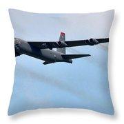 Mega Bomber Throw Pillow