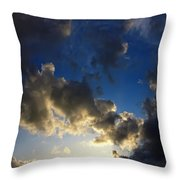 Stratosphere To Surface Throw Pillow