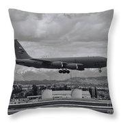 Stratotanker Throw Pillow