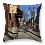 Strawberry And Company Throw Pillow