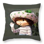 Strawberry Shortcake Throw Pillow