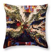Stray Dogs On Neptune  Throw Pillow