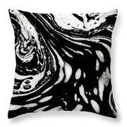 Stream Art Throw Pillow