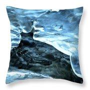 Stream Hole Throw Pillow