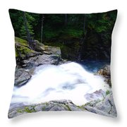 Streaming Down  Throw Pillow