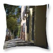 Street Alley Throw Pillow