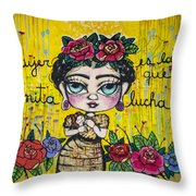 Street Art - Buenos Aires Argentina Throw Pillow
