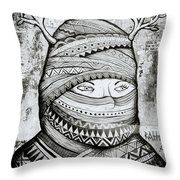 Mysterious Cochin Throw Pillow