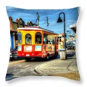 Street Car Named Desire Throw Pillow