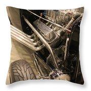 Street Car Racer Throw Pillow
