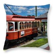 Street Cars Tr3613-13 Throw Pillow