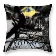 Street Jazz In The Big Easy Throw Pillow