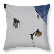 Street Lamp Throw Pillow