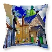 Street Life Series 01 Throw Pillow