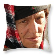 Street People - A Touch Of Humanity 19 Throw Pillow