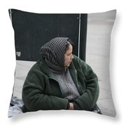 Street People - A Touch Of Humanity 9 Throw Pillow