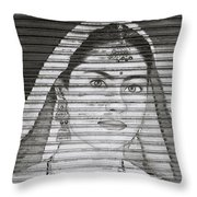 The Ethereal Woman Throw Pillow