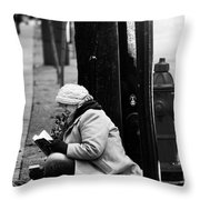 Street Stories  Throw Pillow